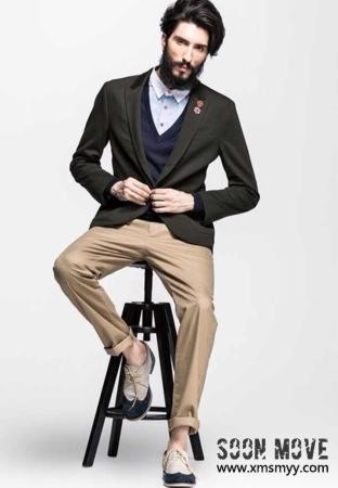 外籍时尚男模特-001